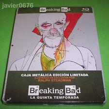 BREAKING BAD QUINTA TEMPORADA COMPLETA BLU-RAY STEELBOOK EDICION LIMITADA