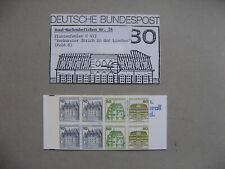 GERMANY BRD, booklet No 24 MNH with error C VII