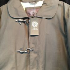 Vince Camuto Jacket Car Coat Fatigue Green Sz Large New Tags Cotton Blend