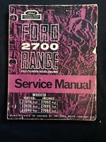 Ford 2700 Range 4 & 6 Cyl Diesel Eng Service Manual *770