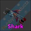 Roblox Murder Mystery 2 MM2 Shark Godly Gun Read Desc