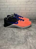 Nike Metcon 3 Cross Fit Training Shoes Lava Glow Women's Size 9.5 849807-600