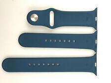 Original Apple watch Series 5 4 3 2 1 Sport Band 38mm 40mm Silver Pin Dark Teal