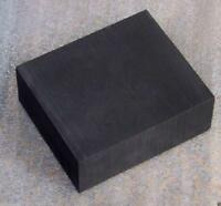 "US Stock High Purity 99.9% Graphite Ingot Block 100x50x25mm 4""x2""x1"""