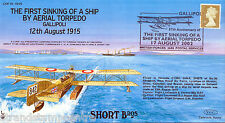 COF 15-1915 Century of Flight - First Sinking Of A Ship By Aerial Torpedo