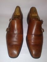 couoio Merchant Florentine men's shoes size 10 m made in Italy brown color