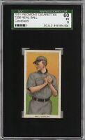 Rare 1909-11 T206 Neal Ball Piedmont 350-460 Cleveland SGC 60 / 5 EX