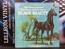Walt Disney The Story And Songs Of Black Beaty LP ST-3938 A/B Children 60's 1966
