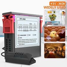 Digital STC-3028 AC110-220V Thermostat mit zwei LCD-Temperaturfeuchtigkeitsregle