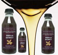 500ml Bourbon Vanilleschoten Vanille Extrakt reine ursprüngliche Blumenaroma