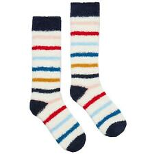 BNWT LADIES JOULES FAB SHORTIE 2 PACK FLUFFY STRIPED SPOTTED SOCKS SIZE UK 4-8.