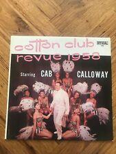 "Cab Calloway Cotton Club Revue 1958 12"" Vinyl LP Free UK Postage OFFICIAL 3000"