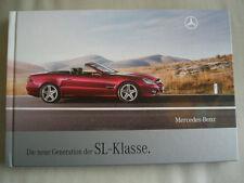 Mercedes SL Class Roadster brochure Apr 2008 hardbacked German text