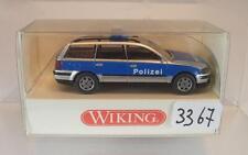 Wiking 1/87 Nr. 104 19 32 VW Volkswagen Passat Variant Kombi Polizei OVP #3367