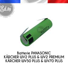 Batterie PANASONIC NCR18650PF-U Kärcher WV2 Plus Premium WV50 Plus WV70 Plus