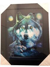 3D Bild Foto Effekt 2 in 1 Wolf
