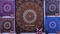 Indian Star Hippie Mandala Psychedelic Elephant Wall Hanging Tapestry Throw Art