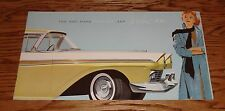 Original 1957 Ford Fairlane and Fairlane 500 Sales Brochure Retractable Hardtop