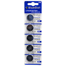 5 PC CR2016 CR 2016 DL2016 2016 208-208 Lithium battery ~ Fast Shipping from USA