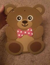 Adorable silicone teddy bear mini ipad case NWT