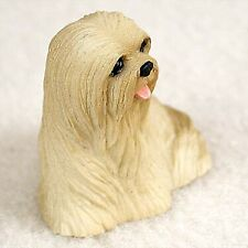 Conversation Concepts Blonde Lhasa Apso Dog Figurine