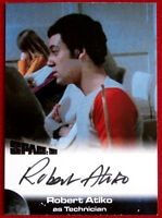 SPACE 1999 - ROBERT ATIKO as Technician - AUTOGRAPH CARD - Unstoppable Cards
