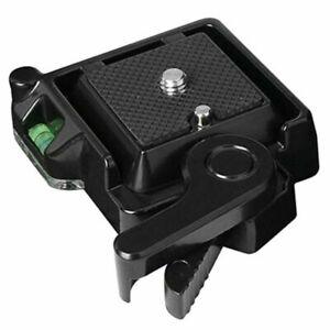 Clamp Quick Release QR40 QR 40 for Tripod Monopod Ball Head DSLR Camera
