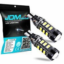 JDM ASTAR 2Pcs 921 912 12-SMD 6000K White Backup Reverse LED Lights Bulbs Lamp