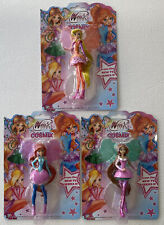 More details for winx club cosmix fairy bloom - set of 3 fairies - new in packaging