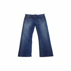 Hugo Boss Straight Leg Bootcut Jeans - Blue / W36XL32