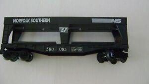 Lionel Norfolk Southern Black Plastic Auto Loader w/operating trucks