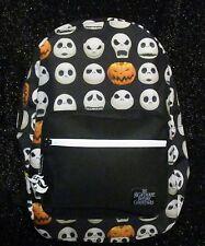 The Nightmare Before Christmas JACK O LANTERN Backpack Disney Free Ship