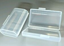 AA Battery Storage Case Holder Box For Two AA Type Batteries NEW