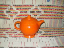 """RADIOACTIVE RED"" FIESTA MEDIUM TEA POT & LID-FIESTAWARE -                   K16"