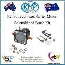 A Johnson Evinrude 25hp-thru-300hp Starter Motor Solenoid & Brush Kit