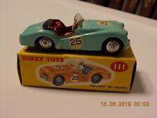 Original Dinky Toys no. 111 Triumph TR2 Sports - Boxed