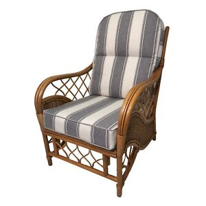 NEW CUSHIONS AND COVERS FOR CANE/RATTAN CONSERVATORY WICKER FURNITURE piped