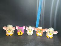 Vintage 1998 Furby's McDonald's Happy Meal Toys Plastic Lot of 5