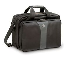 Wenger Legacy 16-inch Double Compartment Laptop Case Black/Grey