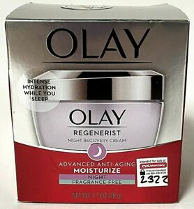 Olay Regenerist Advanced Anti-Aging Night Moisturizer Fragrance Free 1.7oz
