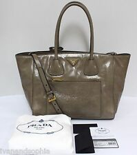Prada * Vitello Shine Shopping BN2795 in Guinco Leather Bag Ivanandsophia MOM17