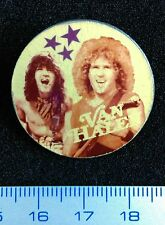 Pin Badge Soviet Underground.Hard Rock VAN HALEN Vintage USSR Mega Rare !!!