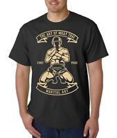 Art of Muay Thai MMA Style T-Shirt -Mixed Martial Arts Fighting Sports Excercise