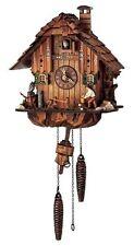 SCHNEIDER-  MUSICAL QUARTZ CUCKOO CLOCK-WOOD CHOPPER Q 1105/10