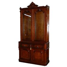 Antique American Bookcase-Secretary Desk #6597