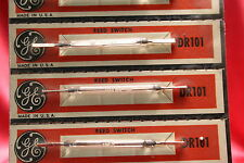 GE DR101 - Mini Reed Switch each matched 1950's. New in boxes! A+++