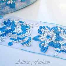 Hottest French --- Sequined Trim *Per yard* *9cm Wide*