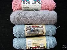 Natura DuPont acrylic yarn,mixed lot of 4
