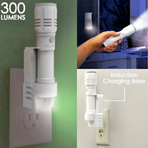 Wall Emergency Light Power Failure Home Rechargeable Lamp LED Night Flashlight