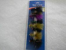 Wright & McGill - WMFABUGGER - WOOLY BUGGER FLIES - ASSORTMENT  - FLY FISHING